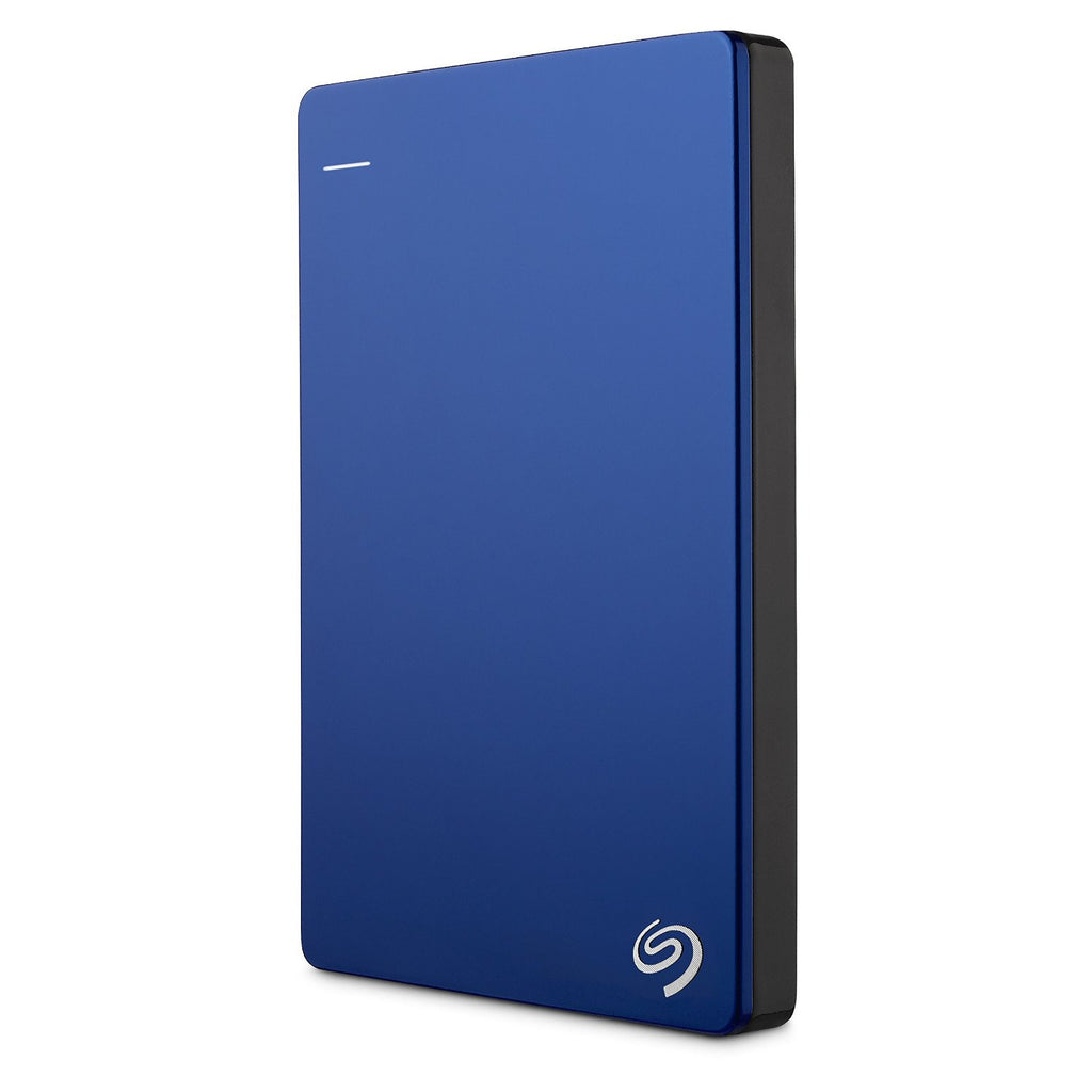 Seagate 1TB Backup Plus Slim Portable Drive - USB 3.0 - Blue