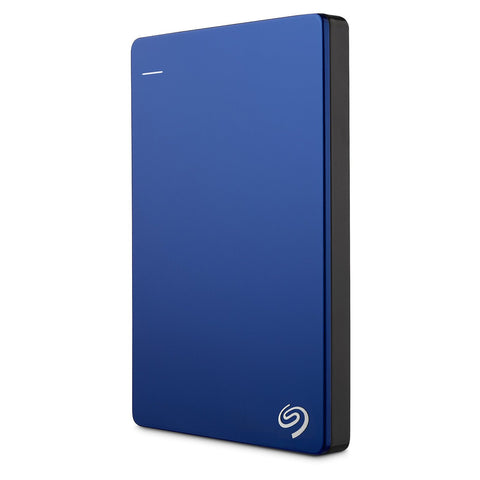 Seagate 2TB Backup Plus Slim Portable Drive - USB 3.0 - Blue