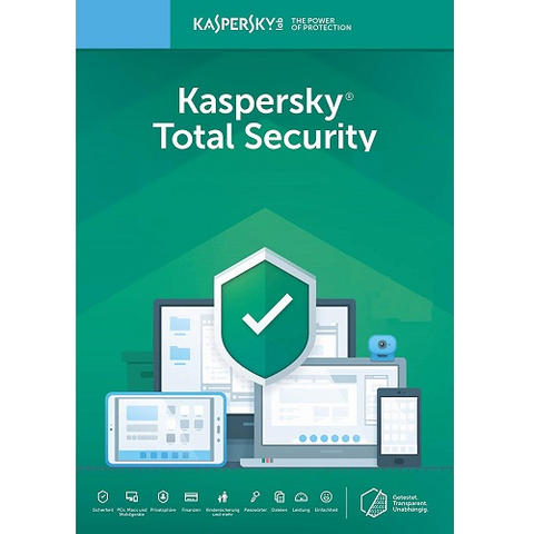 Kaspersky Total Security 2020 - 1-Year / 5-Device - Americas