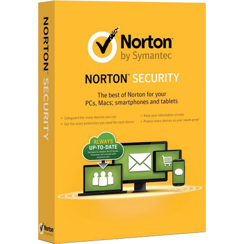 Norton Security Deluxe - 1-Year / 3-Device - North America