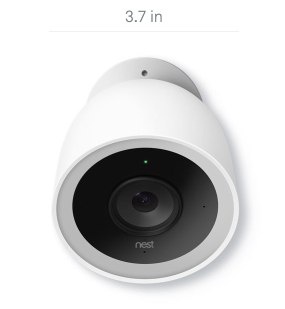 Nest Cam IQ Outdoor Camera - Smart Sensing Technology