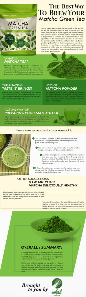 best way to brew your matcha green tea info