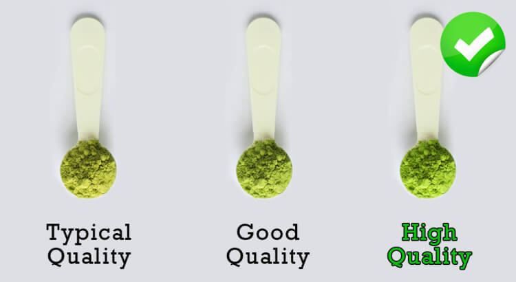 what are the differences between the diffferent grades of matcha?