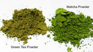 Is Matcha powder and Green Tea Powder the Same?