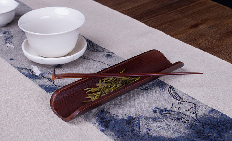 Bamboo and wood products, old bamboo, Japanese style, and wind tea, tea, tea ceremony, art, gentleman, spare parts, two-piece set, Kung Fu tea set