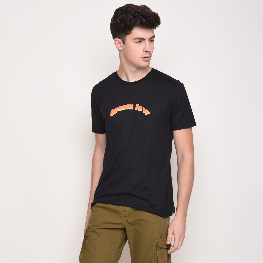 Dream Low Graphic T-Shirt in Black