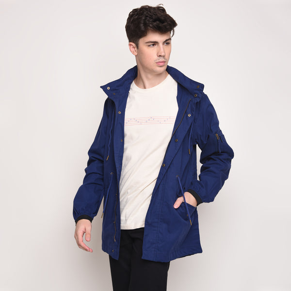 Skelly Topmod Parka in Brits Blue