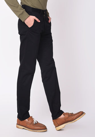Kennedy Twill Pants in Black - Skellyshop Singapore | Skelly Collective Trousers | skellyshop.co.uk