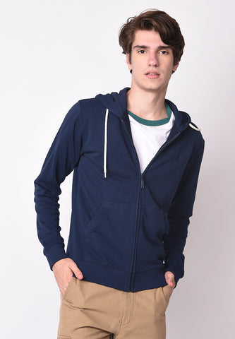Logo Hooded Sweatshirt in Navy - Skellyshop Singapore | Skellyshop Singapore Sweatshirts | skellyshop.co.uk