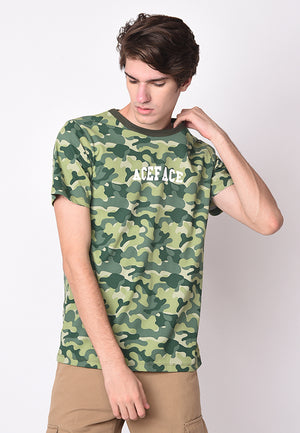 Ace Face Camo in Green - Skellyshop Singapore | Skellyshop Singapore T-Shirts | skellyshop.co.uk