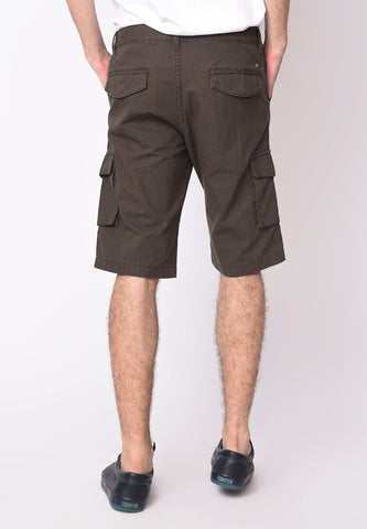 Utility Cargo Shorts in Dark Grey - Skellyshop Singapore | Skellyshop Singapore Shorts | skellyshop.co.uk