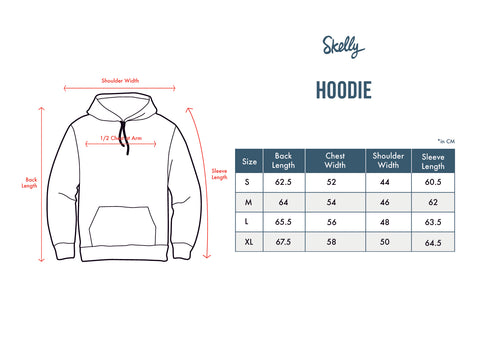 Umbrella Guard Hoodie in Black - Skellyshop Singapore | Skelly Original Sweatshirts | skellyshop.co.uk
