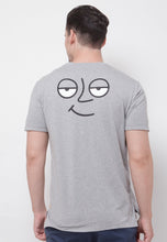 Ace Face Long Graphic T-shirt in Heather - Skellyshop Singapore | Skelly Original T-Shirts | skellyshop.co.uk