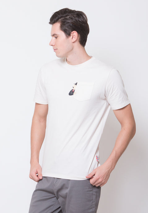 Thompson Pocket Printed T-shirt