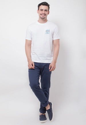 Ace Face Long Graphic T-shirt in White - Skellyshop Singapore | Skelly Original T-Shirts | skellyshop.co.uk
