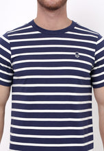 Evenlike Stripe T-Shirt in Navy - Skellyshop Singapore | Skelly Original T-Shirts | skellyshop.co.uk