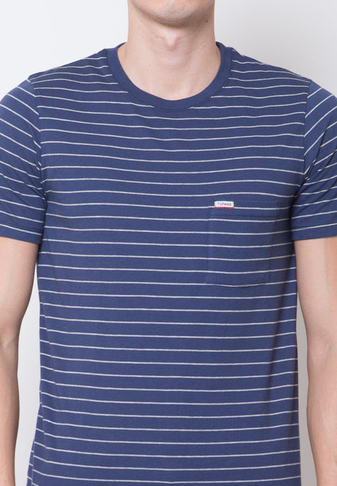 Topmod Navy Stripe T-shirt
