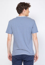 Brighton Stripe T-Shirt in Blue - Skellyshop Singapore | Skelly Original T-Shirts | skellyshop.co.uk