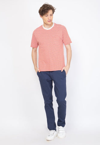 Brighton Stripe T-Shirt in Red - Skellyshop Singapore | Skelly Original T-Shirts | skellyshop.co.uk