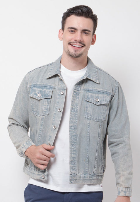 Tim Denim Jacket - Skellyshop Singapore | Skelly Original Jackets | skellyshop.co.uk
