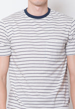 Chester Stripe T-shirt Navy