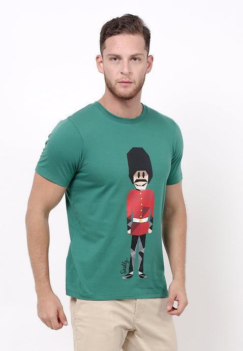 Royal Guard MMIX Ever Green Graphic T-shirt - Skellyshop Singapore | Skellyshop Indonesia T-Shirts | skellyshop.co.uk