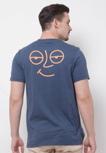 Ace Face Long Graphic T-shirt in Navy - Skellyshop Singapore | Skelly Original T-Shirts | skellyshop.co.uk