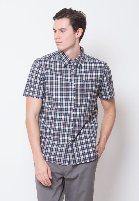 Bowery Short Sleeve Flannel Shirts