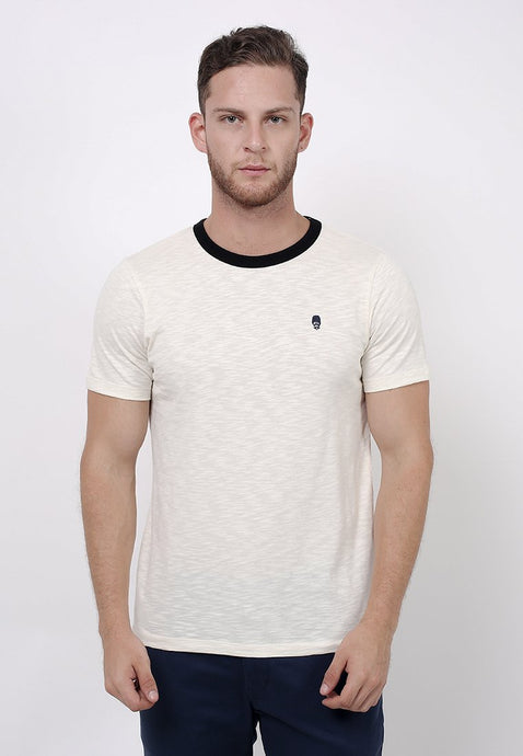 Guardian Slub T-shirt Off White - Skellyshop Singapore | Skelly Original T-Shirts | skellyshop.co.uk
