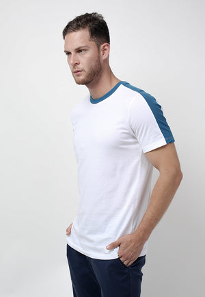 Studio Tee in Blue - Skellyshop Singapore | Skelly Original T-Shirts | skellyshop.co.uk