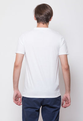 Scoot Line Graphic T-shirt in White - Skellyshop Singapore | Skelly Original T-Shirts | skellyshop.co.uk