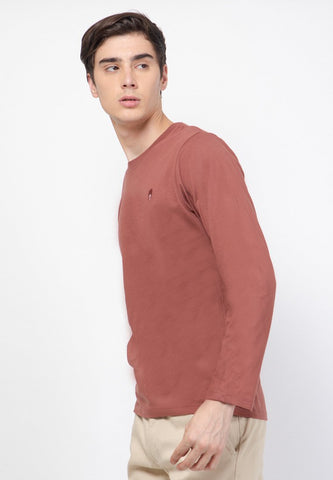 Guardian LS Crew Sable Brown - Skellyshop Singapore | Skelly Original T-Shirts | skellyshop.co.uk