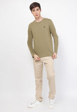 Guardian LS Crew Military Olive - Skellyshop Singapore | Skelly Original T-Shirts | skellyshop.co.uk