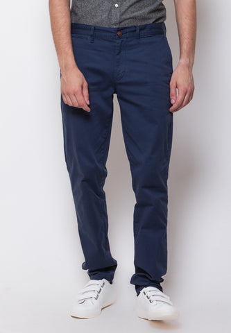 Jim Truman Long Pants in Navy - Skellyshop Singapore | Skelly Collective Trousers | skellyshop.co.uk