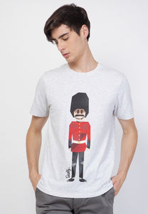 Royal Guard MMIX Overdyed White - Skellyshop Singapore | Skelly Original T-Shirts | skellyshop.co.uk