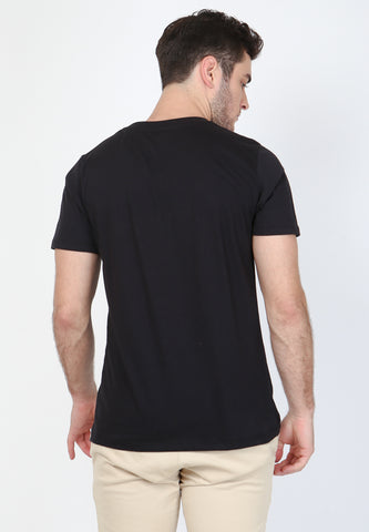 Huge History Graphic T-Shirt In Black - Skellyshop Singapore | Skelly Original T-Shirts | skellyshop.co.uk