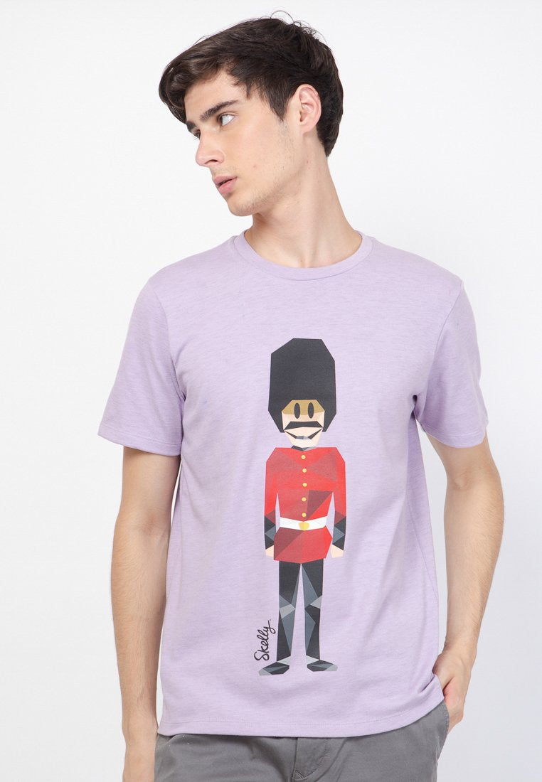 Royal Guard MMIX Overdyed Purple - Skellyshop Singapore | Skelly Original T-Shirts | skellyshop.co.uk
