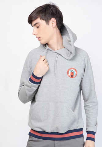 Slow Rider Club Jacket in Heather - Skellyshop Singapore | Skelly Original Sweatshirts | skellyshop.co.uk