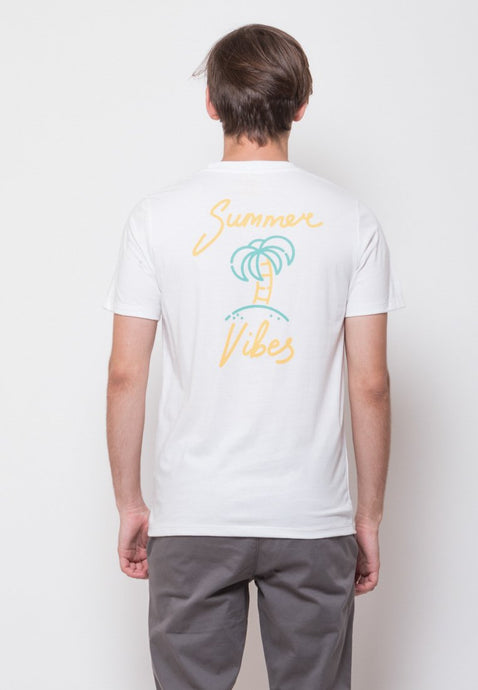 Summer Vibes Back Print T-shirt