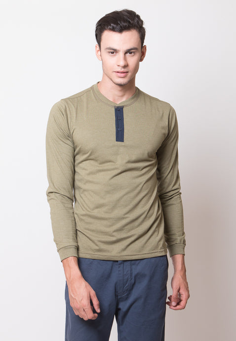 Mark Henley Long Sleeve T-shirt