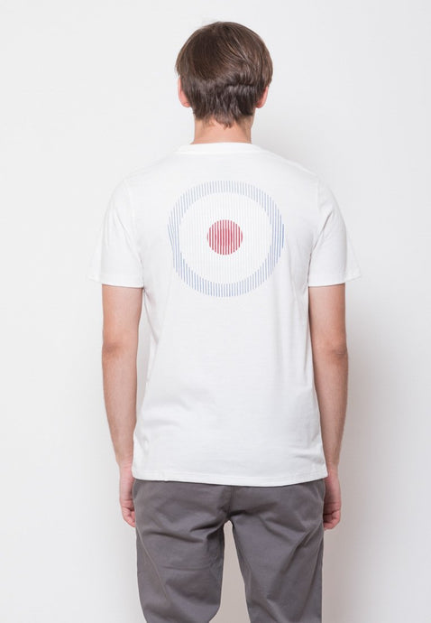 Mod Scan Graphic T-shirt in White