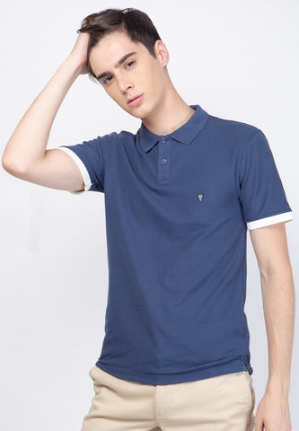 Guardian Polo Key Shirts Navy - Skellyshop Singapore | Skelly Original Poloshirts | skellyshop.co.uk