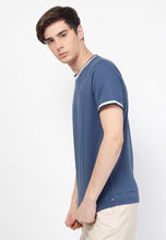 Guardian Ringer Navy T-Shirt - Skellyshop Singapore | Skelly Original T-Shirts | skellyshop.co.uk