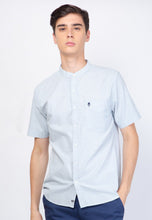 Guardian Alan Oxford in Dusty Blue - Skellyshop Singapore | Skelly Original Shirts | skellyshop.co.uk