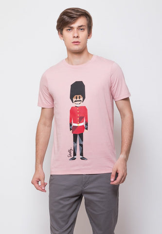 Royal Guard MMIX Pink Shell Graphic T-shirt - Skellyshop Singapore | Skelly Original T-Shirts | skellyshop.co.uk