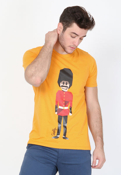 Royal Guard MMIX Graphic T-Shirt in Dark Cheddar - Skellyshop Singapore | Skellyshop Singapore T-Shirts | skellyshop.co.uk