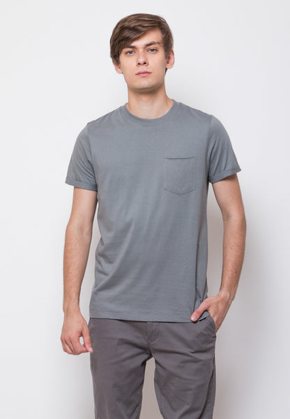 Byron Pocket Rolled Sleeve T-shirts in Sedona Sage