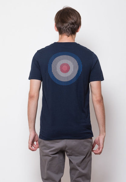 Mod Scan Graphic T-shirt in Navy