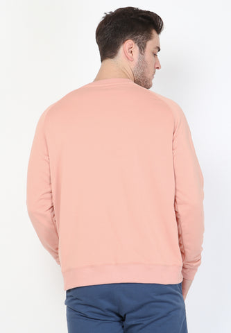 Piggly Wiggly Sweatshirt in Dusty Pink - Skellyshop Singapore | Skelly Original Sweatshirts | skellyshop.co.uk