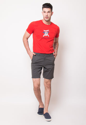 Stuart Shorts in Dark Teal - Skellyshop Singapore | Skelly Collective Shorts | skellyshop.co.uk